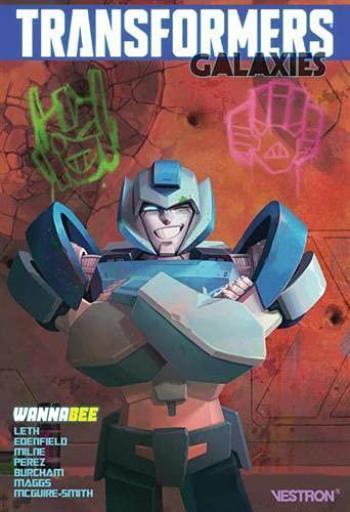 Couverture de l'album Vestron - 62. Transformers Galaxies : Wannabee & Gauging The Truth