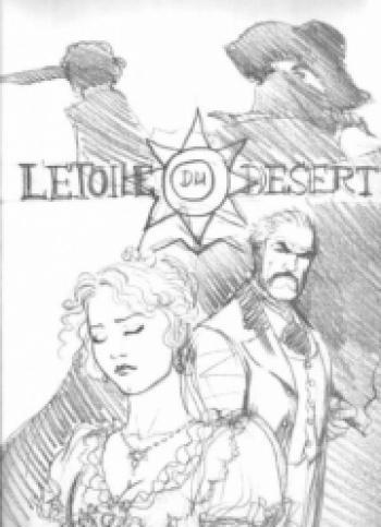 Couverture de l'album L'Étoile du désert - HS. Carnet de croquis