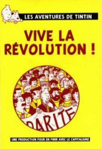 Couverture de l'album Tintin (Pastiches, parodies et pirates) - HS. Vive la révolution !