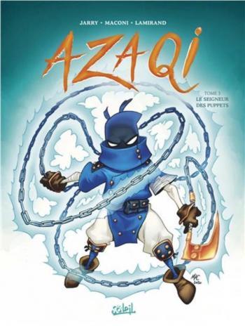 Couverture de l'album Azaqi - 3. Le Seigneur des Puppets