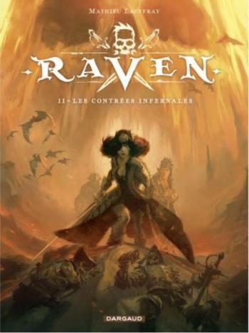 Couverture de l'album Raven (Lauffray) - 2. Les Contrées infernales