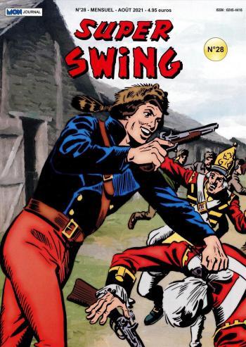 Couverture de l'album Super Swing (2e Série) - 28. Les Loups à la rescousse (2)