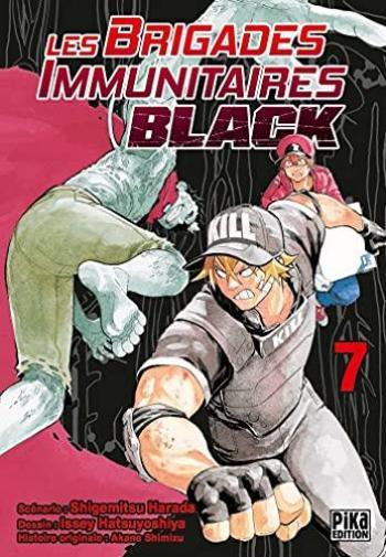 Couverture de l'album Les Brigades Immunitaires Black - 7. Immunothérapie, existence, legs