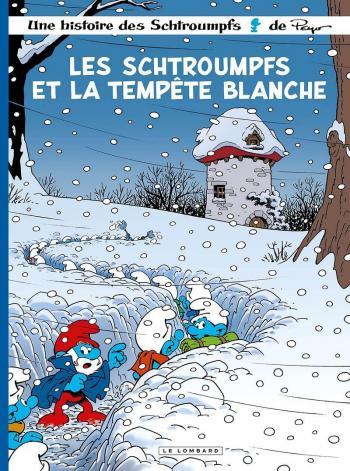 Couverture de l'album Les Schtroumpfs - 39. Les Schtroumpfs et la tempête blanche