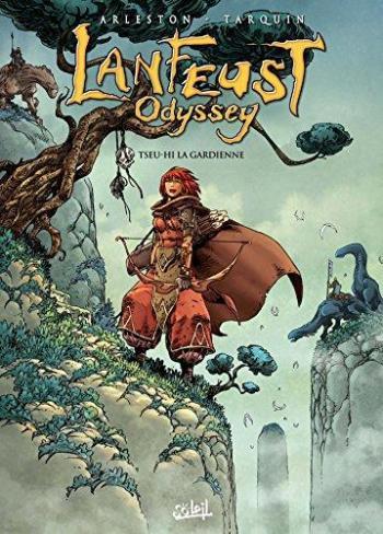 Couverture de l'album Lanfeust Odyssey - 8. Tseu-Hi la gardienne