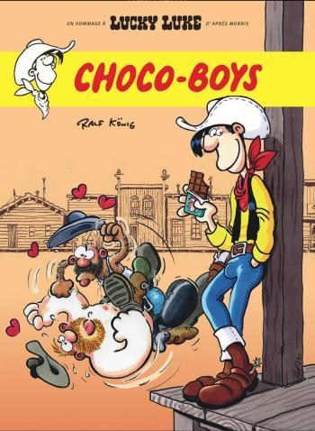 Couverture de l'album Un hommage à Lucky Luke d'après Morris - 3. Choco-boys