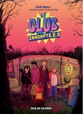 Couverture de l'album Le club des inadapté.e.s (One-shot)