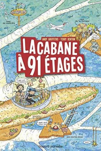 Couverture de l'album La Cabane à 13 étages - 7. La Cabane à 91 étages