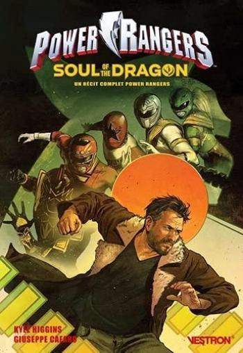 Couverture de l'album Vestron - 66. Power Rangers : Soul of the Dragon : Un récit complet Power Rangers