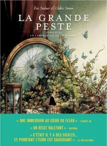 Couverture de l'album La Grande Peste - 2. Le labyrinthe et la guerre
