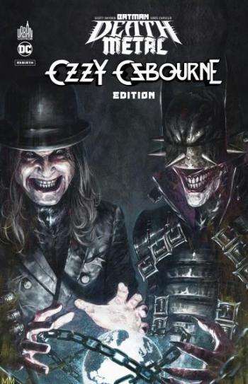 Couverture de l'album Batman - Death Metal - 7. Ozzy Osbourne Edition