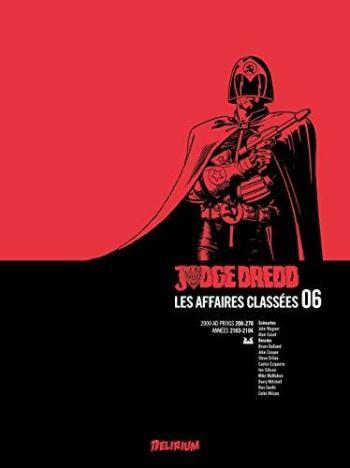 Couverture de l'album Judge Dredd : Les affaires classées - INT. Tome 6