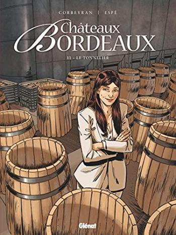 Couverture de l'album Châteaux Bordeaux - 11. Le Tonnelier