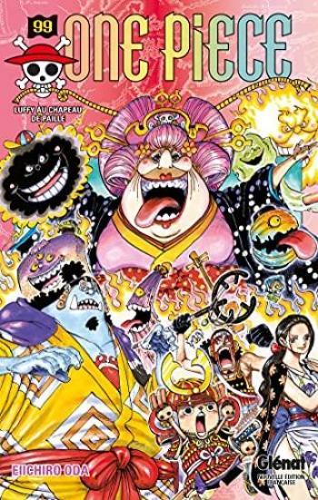 Couverture de l'album One Piece - 99. Luffy au chapeau de paille