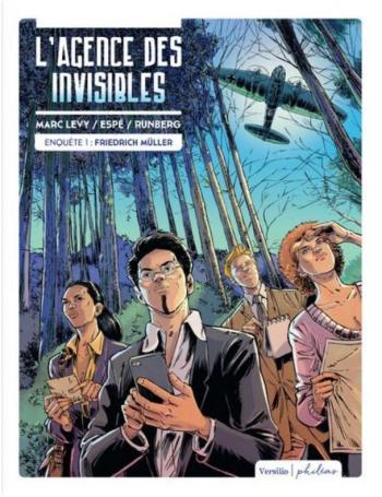 Couverture de l'album L'Agence des Invisibles - 1. Enquête 1 : Friedrich Müller