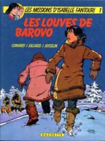Couverture de l'album Les missions d'Isabelle Fantouri - 1. Les louves de Barovo