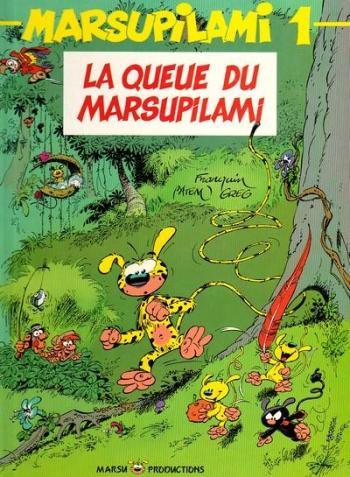 Couverture de l'album Marsupilami - 1. La queue du Marsupilami