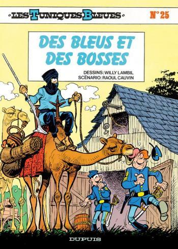 Couverture de l'album Les Tuniques bleues - 25. Des bleus et des bosses