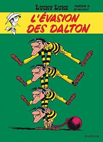 Couverture de l'album Lucky Luke - 15. L'Evasion des Dalton