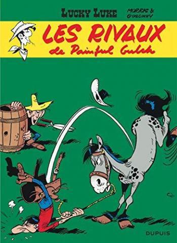 Couverture de l'album Lucky Luke - 19. Les Rivaux de Painful Gulch