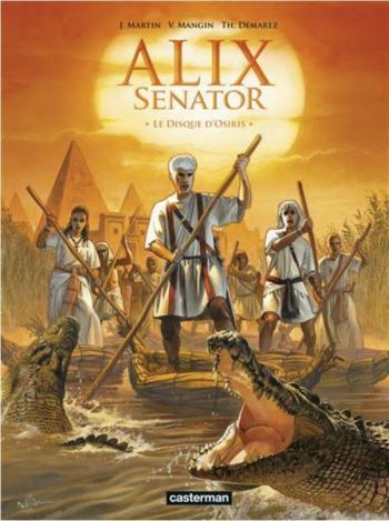Couverture de l'album Alix Senator - 12. Le Disque d'Osiris