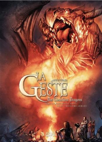 Couverture de l'album La Geste des Chevaliers Dragons - 31. Les Hauts faits de la Troisième Armada
