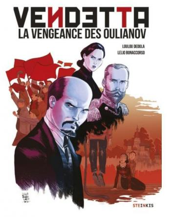 Couverture de l'album Vendetta, la vengeance des Oulianov (One-shot)