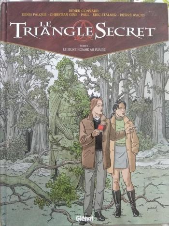 Couverture de l'album Le Triangle secret - 2. Le jeune homme au suaire