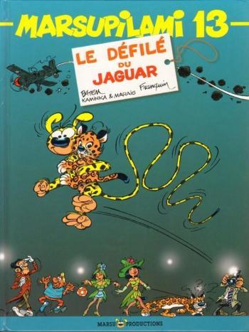 Couverture de l'album Marsupilami - 13. Le Défilé du jaguar