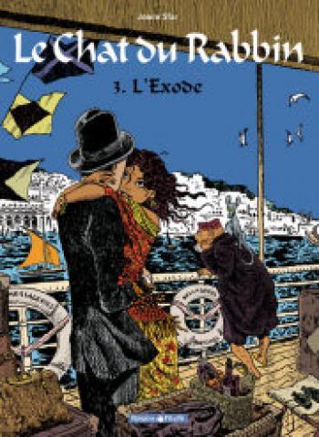 Couverture de l'album Le Chat du Rabbin - 3. L'exode