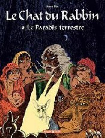 Couverture de l'album Le Chat du Rabbin - 4. Le paradis terrestre