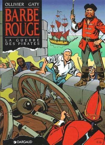 Couverture de l'album Barbe-Rouge - 31. La Guerre des pirates