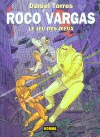 Couverture de l'album Roco Vargas - 6. Le jeu des dieux