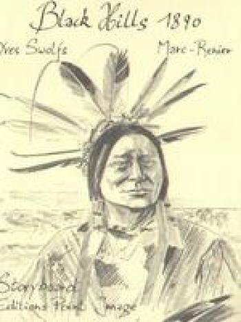 Couverture de l'album Black Hills 1890 - HS. Carnet de croquis (1)
