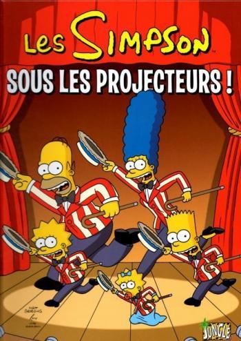 Couverture de l'album Les Simpson (Jungle) - 13. Sous les projecteurs !