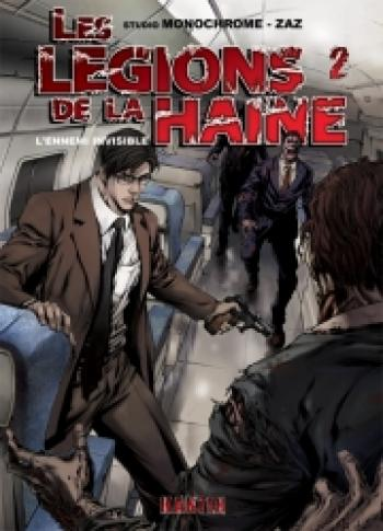 Couverture de l'album Les légions de la haine - 2. L'ennemi invisible