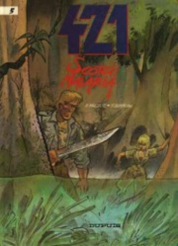 Couverture de l'album 421 - 5. Scotch malaria