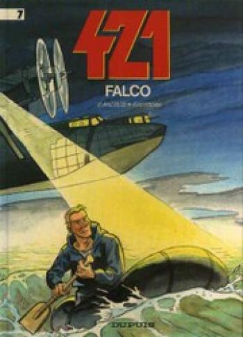 Couverture de l'album 421 - 7. Falco
