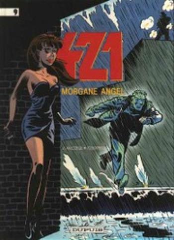 Couverture de l'album 421 - 9. Morgane Angel