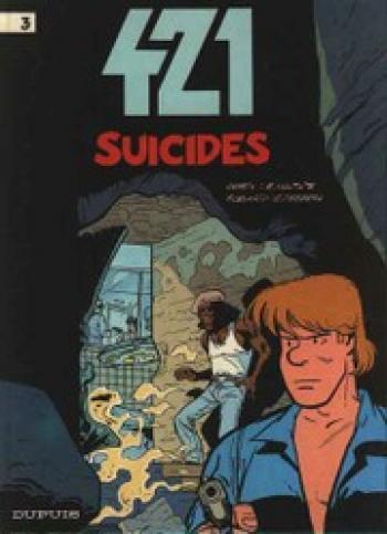 Couverture de l'album 421 - 3. Suicides
