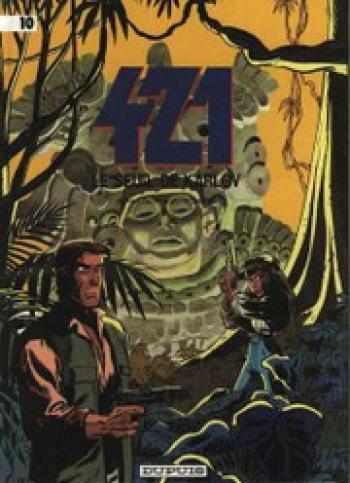 Couverture de l'album 421 - 10. Le Seuil de Karlov