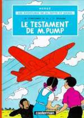 Couverture de l'album Jo, Zette et Jocko - 1. Le Stratonef H.22 (1) - Le Testament de M. Pump