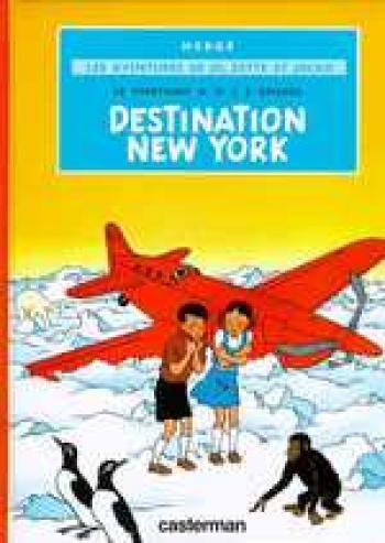 Couverture de l'album Jo, Zette et Jocko - 2. Le Stratonef H.22 (2) - Destination New-York