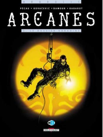 Couverture de l'album Arcanes - 3. Le Dossier Karadine
