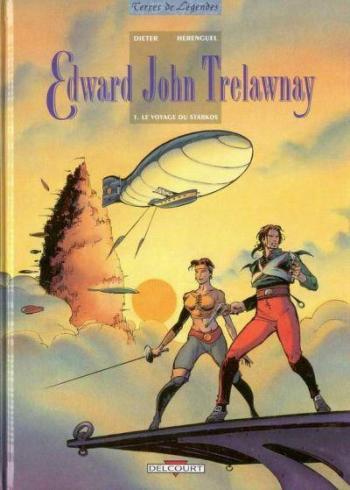 Couverture de l'album Edward John Trelawnay - 1. Le Voyage du Starkos