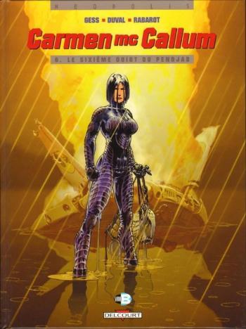 Couverture de l'album Carmen Mc Callum - 6. Le Sixième Doigt du Pendjab