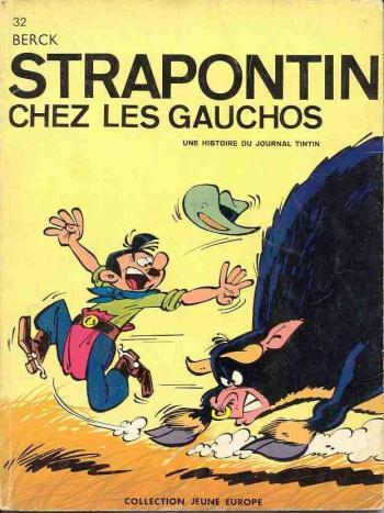 Couverture de l'album Strapontin - 4. Strapontin chez les Gauchos