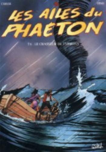 Couverture de l'album Les Ailes du Phaéton - 4. Le chasseur de typhons