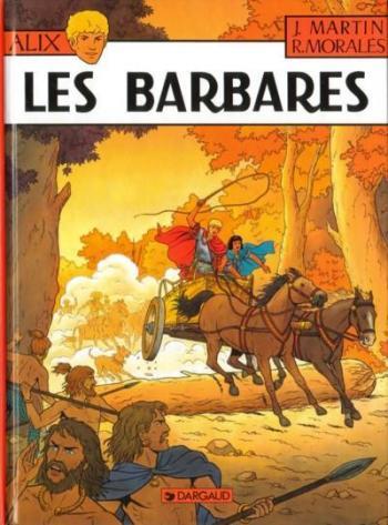 Couverture de l'album Alix - 21. Les Barbares