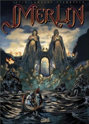 Couverture de l'album Merlin - 4. Avalon